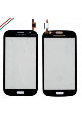 TOUCH SCREEN DISPLAY VETRO SAMSUNG GALAXY GRAND NEO DUOS GT i9062 i9060 BLU SCUR