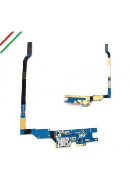 FLEX CONNETTORE DI RICARICA DOCK USB MICROFONO PER SAMSUNG GALAXY S4 I9505