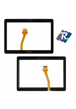 "TOUCH SCREEN VETRO SAMSUNG GALAXY TAB 2 GT- P5100 - P5110 10.1"" NERO BIADESIVO"