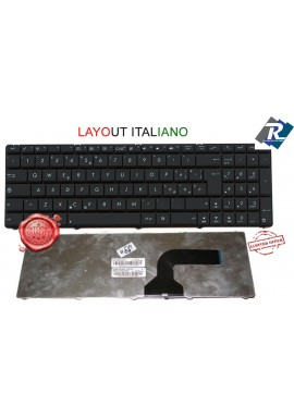 Tastiera Asus ITALIANA A54H A54C A54L A54HR F50 X52 X54H X54HR N50 N53 U50 NERA
