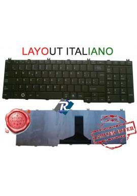 TASTIERA Toshiba Satellite C650 C655 C655D L650 L655 L670 L675 C660 ITA nera