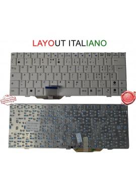 Tastiera ITALIANA ASUS EEE PC EEPC 1000 1000H 1000HA 1000HE 1000HV 1004DN BIANCA