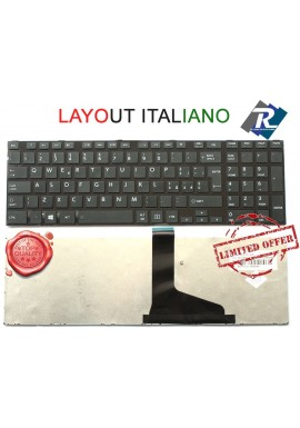TASTIERA Italiana Toshiba Satellite L850 C850 C850D C855 C855D C870 L855 L8 Nera