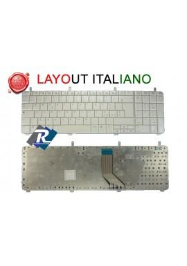 TASTIERA ITALIANA HP PAVILION DV7-2000 DV7-2100 DV7-3000 DV7-3100 serie BIANCA