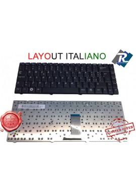 Tastiera Italiana per notebook SAMSUNG R519 R518 NP-R519 -NP-R518 NERA