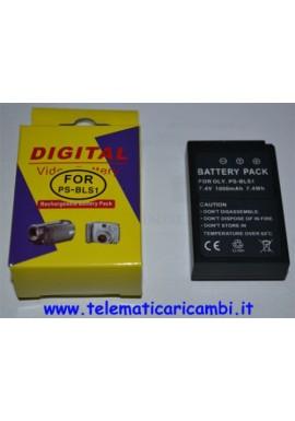 Batteria BLS1 7,4 volt 1000 mAh - Olympus SLR E 400 410 420 450 - Nuova -
