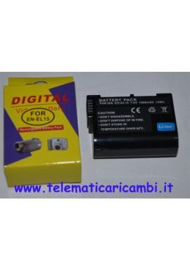 Batteria EN-EL15 7,4 volt 1900 mAh - Nikon D600 D800 D7000 D7100 - Nuova -