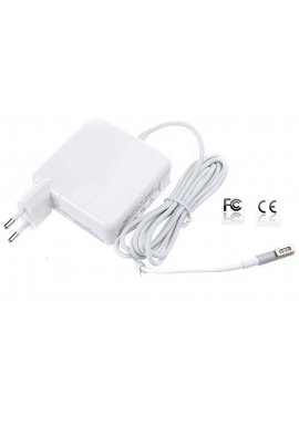 "Alimentatore caricabatterie 60W per Apple MacBook 13"" 15"" 17"" A1278 MagSafe 1"