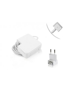 Alimentatore MagSafe 2 per Apple MacBook 14,85V 3,05 45W 5 Pin A1244 A1270 A1466