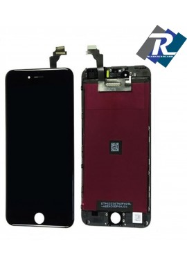 "Display LCD Retina Touch Screen Vetro Schermo Apple iPhone 6+ 6 plus 5.5"" Nero"