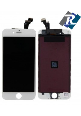 "Display LCD Retina Touch Screen Vetro Schermo Apple iPhone 6+ 6 plus 5.5"" Bianco"