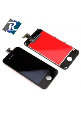TOUCH SCREEN VETRO SCHERMO + LCD DISPLAY RETINA + FRAME IPHONE 4 NERO