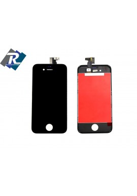 TOUCH SCREEN + LCD DISPLAY RETINA + FRAME PER APPLE IPHONE 4S VETRO SCHERMO NERO
