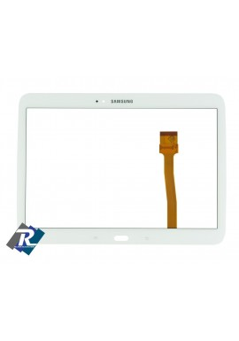 "TOUCH SCREEN VETRO SAMSUNG GALAXY TAB 3 GT- P5200 - P5210 10.1"" BIANCO BIADESIVO"