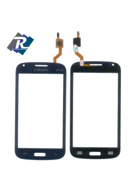 TOUCH SCREEN SAMSUNG GALAXY CORE GT-i8260 i8262 duos NERO - DARK BLU + Biadesivo