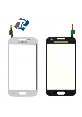 TOUCH SCREEN VETRO SAMSUNG GALAXY CORE PRIME SM-G360 G360F BIADESIVO BIANCO