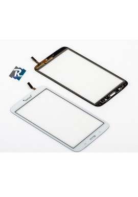 "TOUCH SCREEN VETRO PER SAMSUNG GALAXY TAB 3 SM - T310 8"" BIANCO NO DISPLAY"