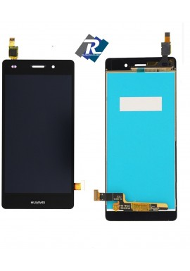 TOUCH SCREEN VETRO LCD DISPLAY Per Huawei Ascend P8 Lite ALE-L21 Nero