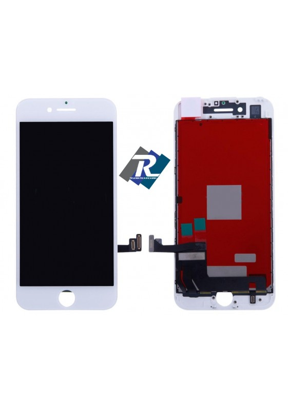Display LCD Retina HD Touch Screen Vetro Schermo Apple iPhone 7 Bianco