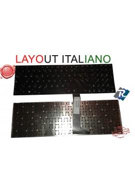 Tastiera ITALIANA PER ASUS SERIE F502 X502 SENZA FRAME NERA