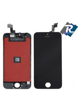 TOUCH SCREEN VETRO SCHERMO + LCD Display Assemblato PER iPhone 5S Nero