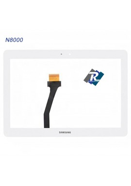 TOUCH SCREEN VETRO PER TABLET SAMSUNG GALAXY NOTE N8000 GT-N8000  10.1 BIANCO